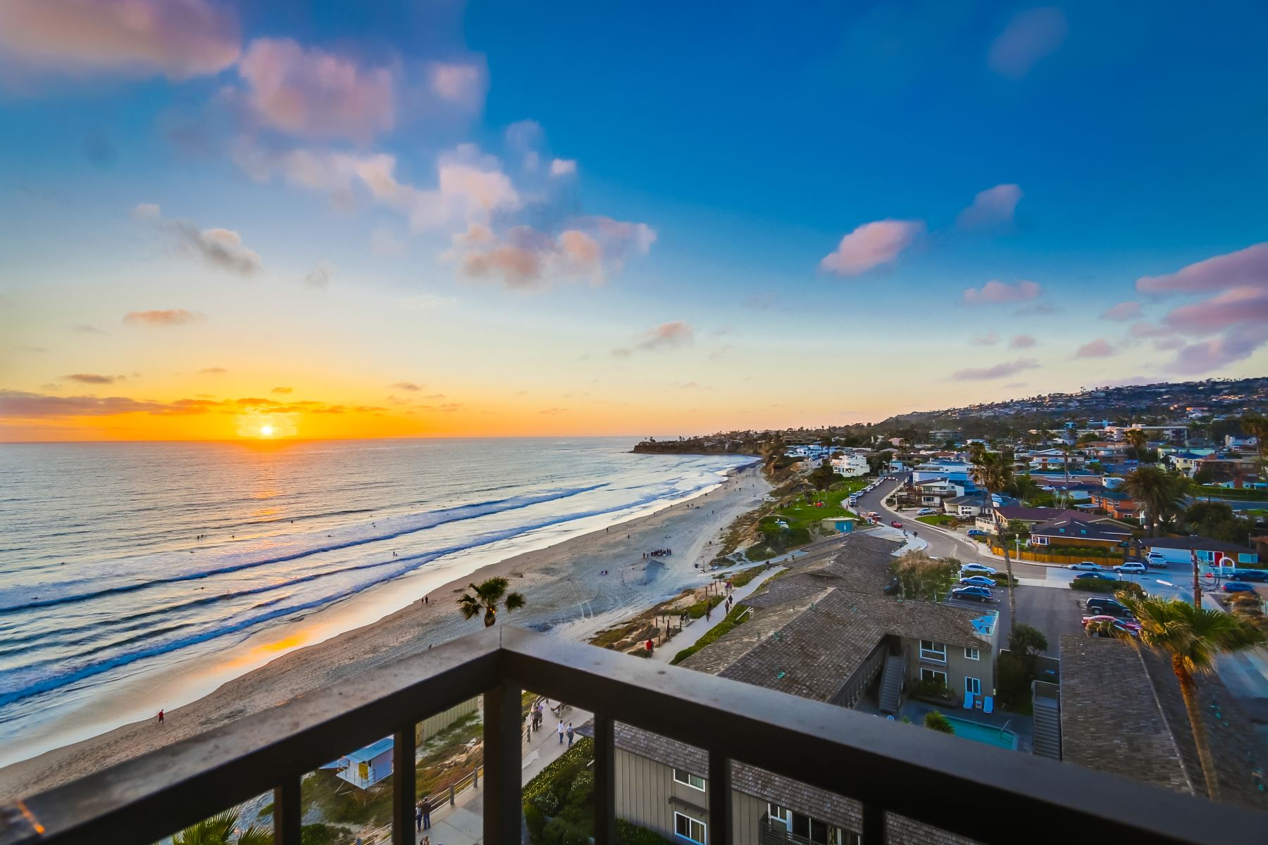 Mission Beach Vacation Rentals View of Beach
