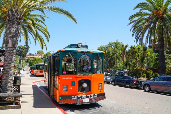 San Diego City Tours Trolley